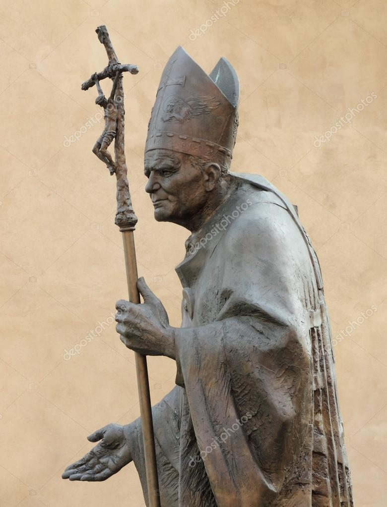 Statue of Pope John Paul II by Zemla ( Blessed John Paul or Jo