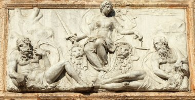 relief representing Venice as Justice from the Loggetta by Jacop