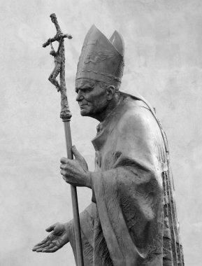 Sculpture of Pope John Paul II by Zemla ( Blessed John Paul or