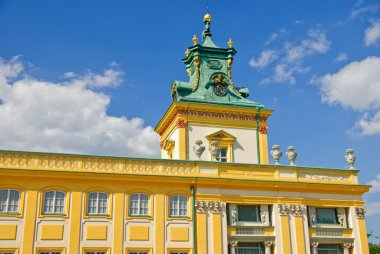 Wilanow palace - south side, Warsaw, Poland
