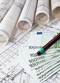 Architektonický projekt a euro peníze