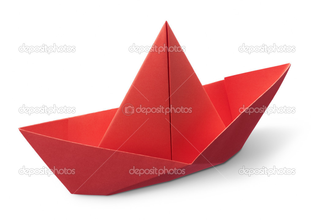 bateau en papier origami photographie ifong 32062389. Black Bedroom Furniture Sets. Home Design Ideas