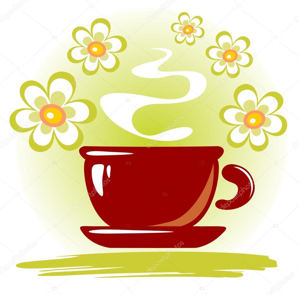 flores e x u00edcara de ch u00e1 fotografias de stock  u00a9 tokhiti tea cup clip art free tea cup clipart border