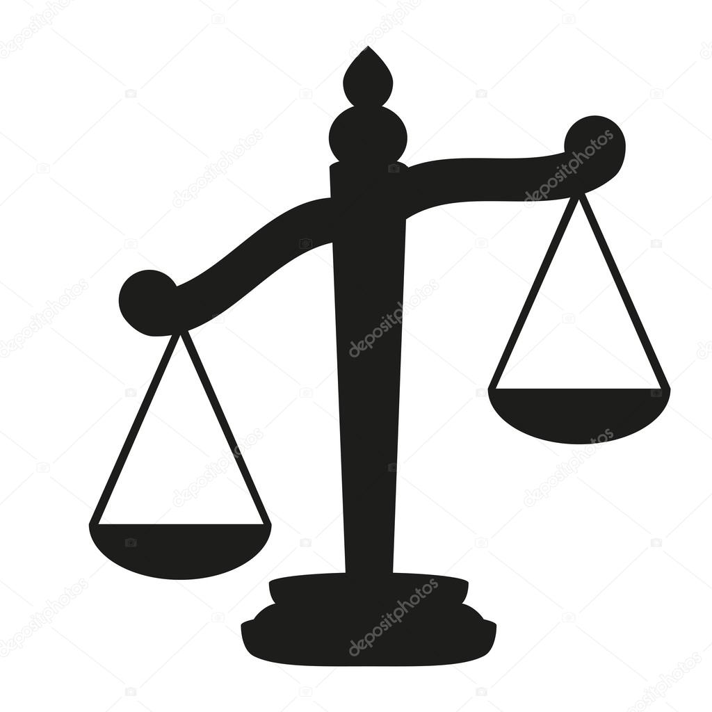Scales Of Justice Stock Vector Pavlentii 13947986