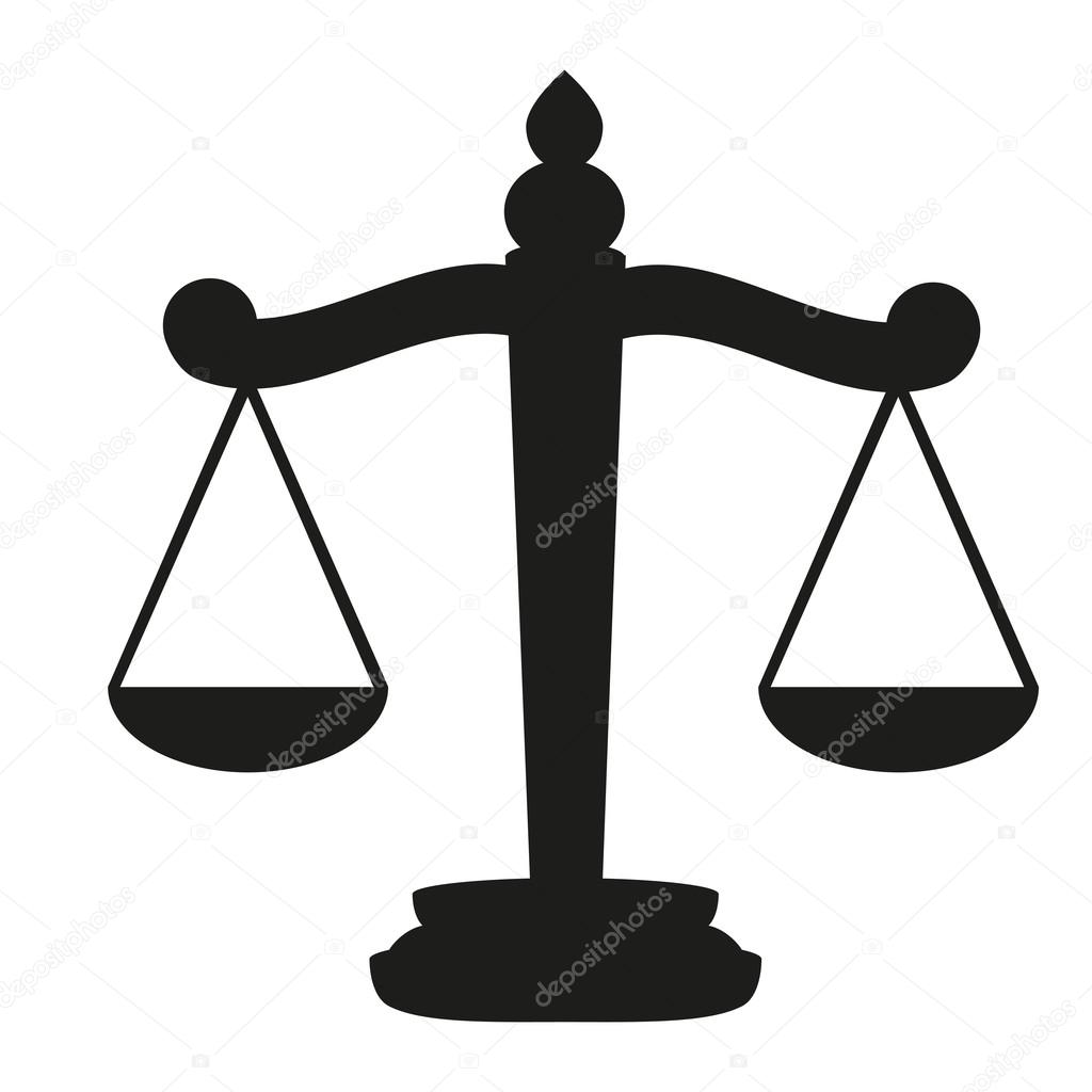 Scales Of Justice Stock Vector Pavlentii 13948250