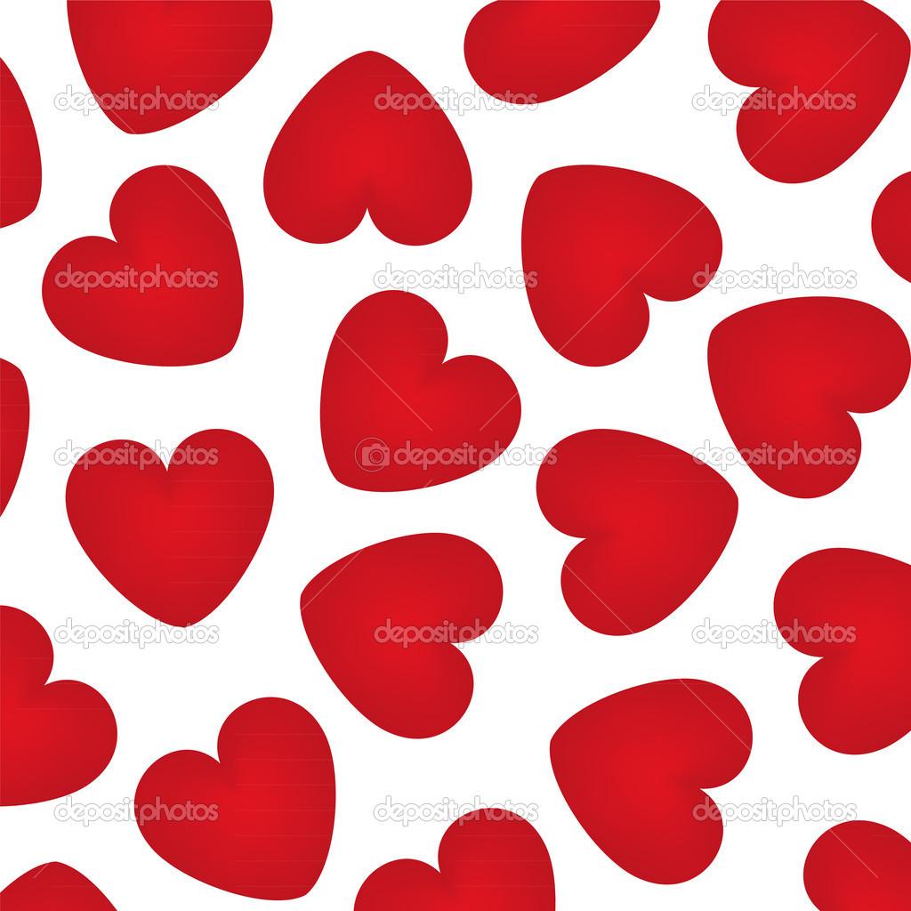 Estremamente sfondo con cuori rossi — Vettoriali Stock © pavlentii #18983465 KG81