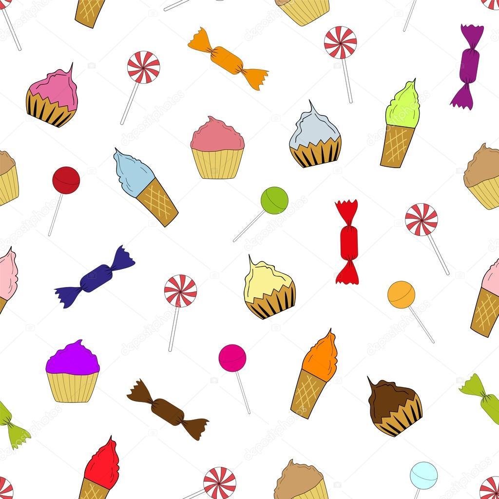 Envoltura de caramelo Imágenes Vectoriales, Ilustraciones Libres de ...