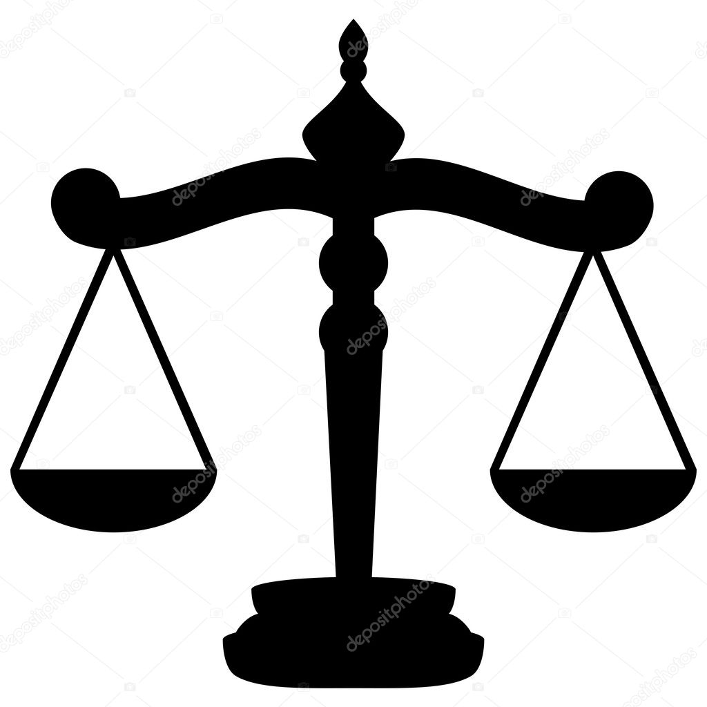scales of justice stock vector pavlentii 46263387 rh depositphotos com scales of justice vector art free scales of justice vector clip art