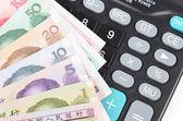 Kalkulačka a čínská měna