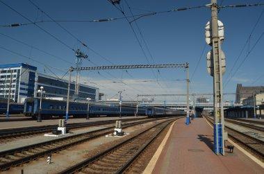 Central Railway Station.Kiev, Ukraine