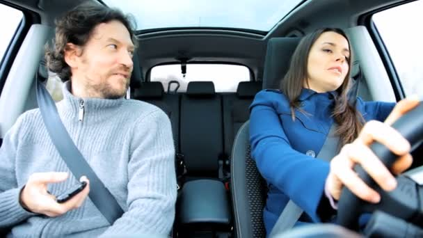 В машине с женой видео, трахнул зрелую через стринги видео