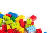 LEGO bloky s kopií prostor