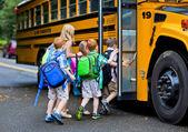 Fotografie grapevine školní autobus