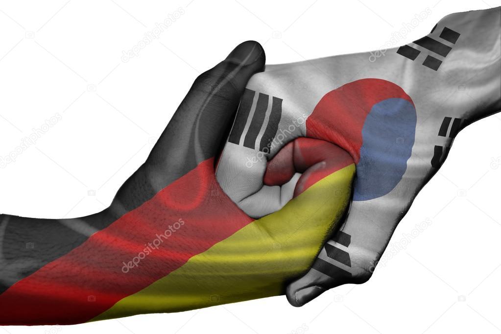 Deutschland Korea