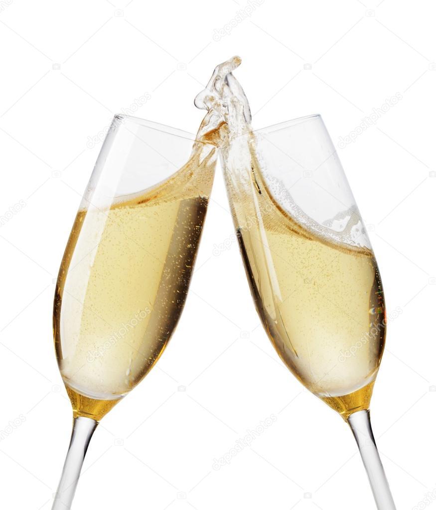 depositphotos 45080709 stock photo champagne flutes toasting - Wedding Toast