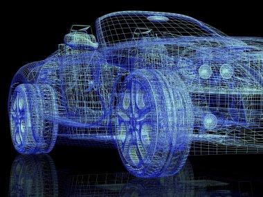 Modern model cars