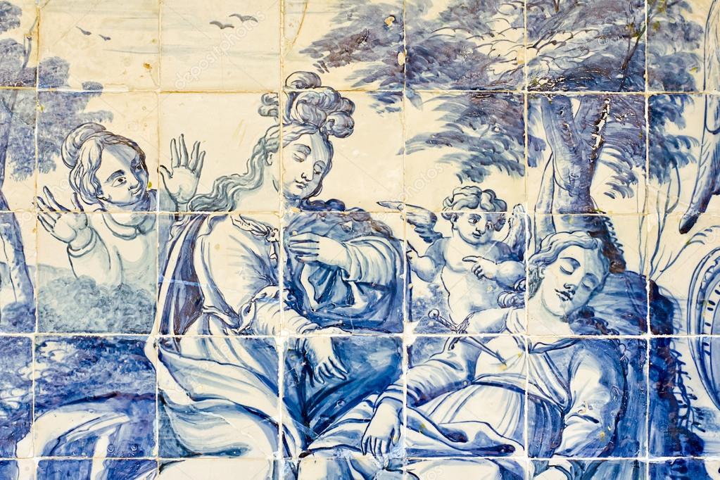Decorazione della parete di piastrelle in ceramica vintage stile