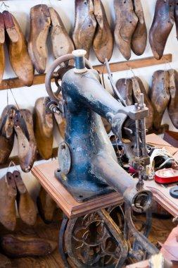 old shoe workshop
