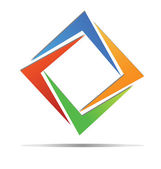 Diamond barevné logo vektor