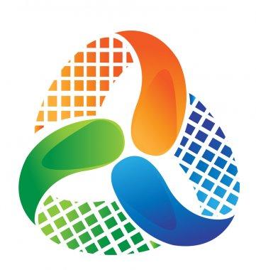 Abstract logo design vector stock