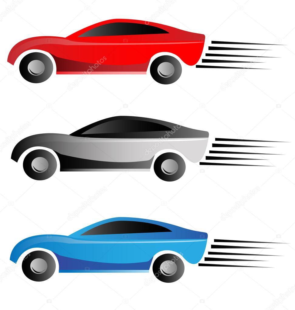 racing car logo stock vector glopphy 12669127 rh depositphotos com race car vector art race car vector graphics