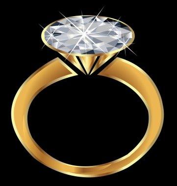 Sparkle Diamond Engagement Ring