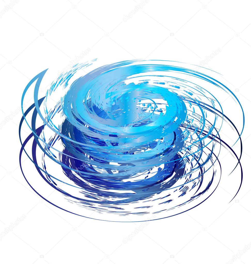 Hurricane icon logo vector eps10