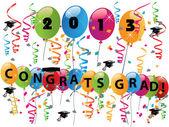 2013 Herzlichen Glückwunsch Grad Feier