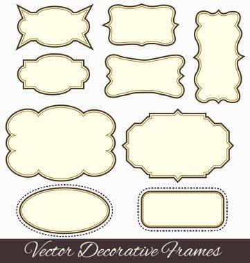 Frame design elements