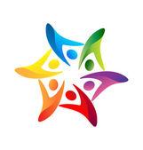 Fényképek Csapatmunka Egyesült logó vektoros