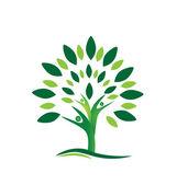 Fotografie Teamarbeit Menschen Baum Logo Vektor