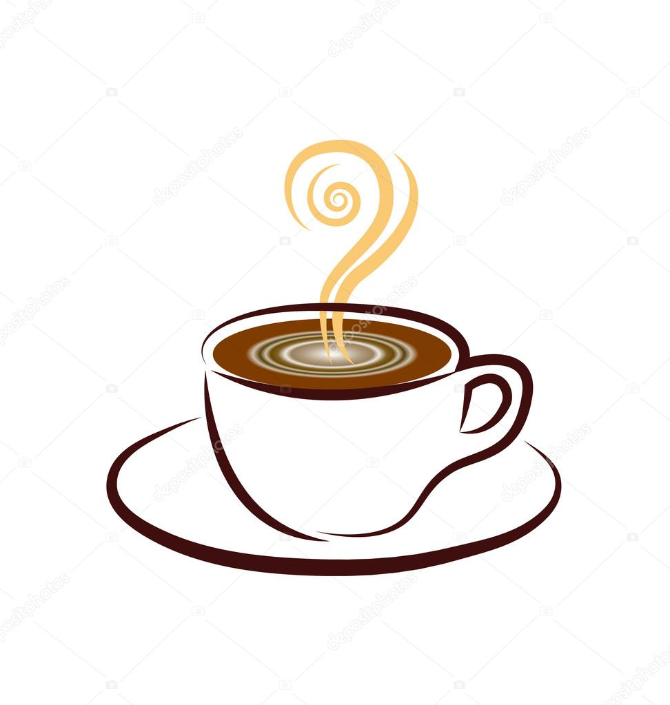 Tasse Kaffee Logo Icondesign — Stockvektor © Glopphy #50325219