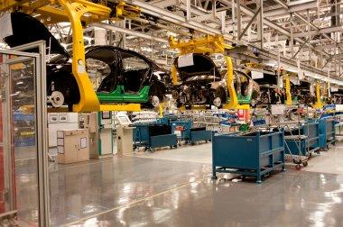 Automobile assembly car shop