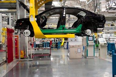 Automobile assembly shop