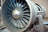 Photo Aircraft engine turbine blades