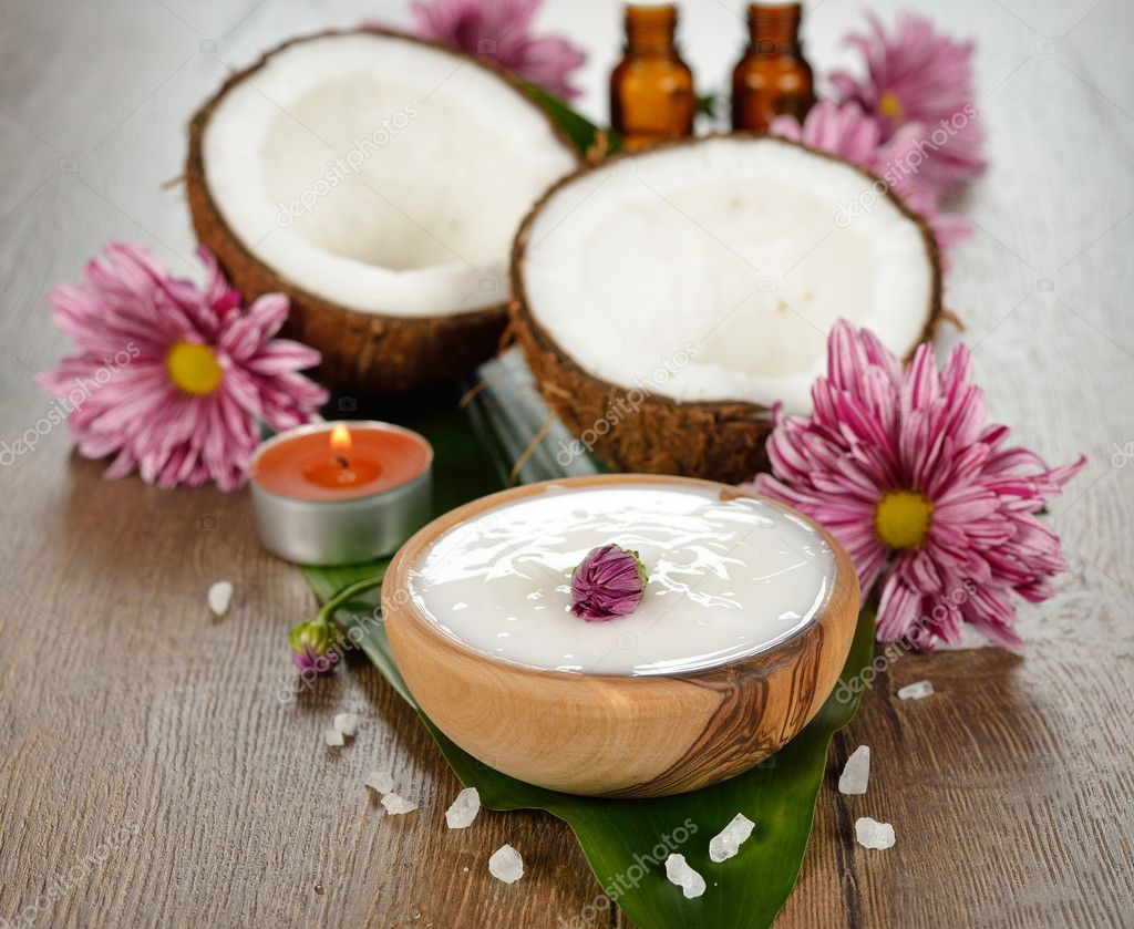 Coconut oil and coconut