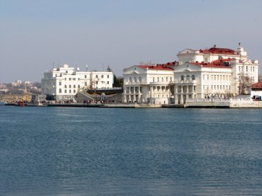 Embankment of Sevastopol cityl, Crimea, Ukraine