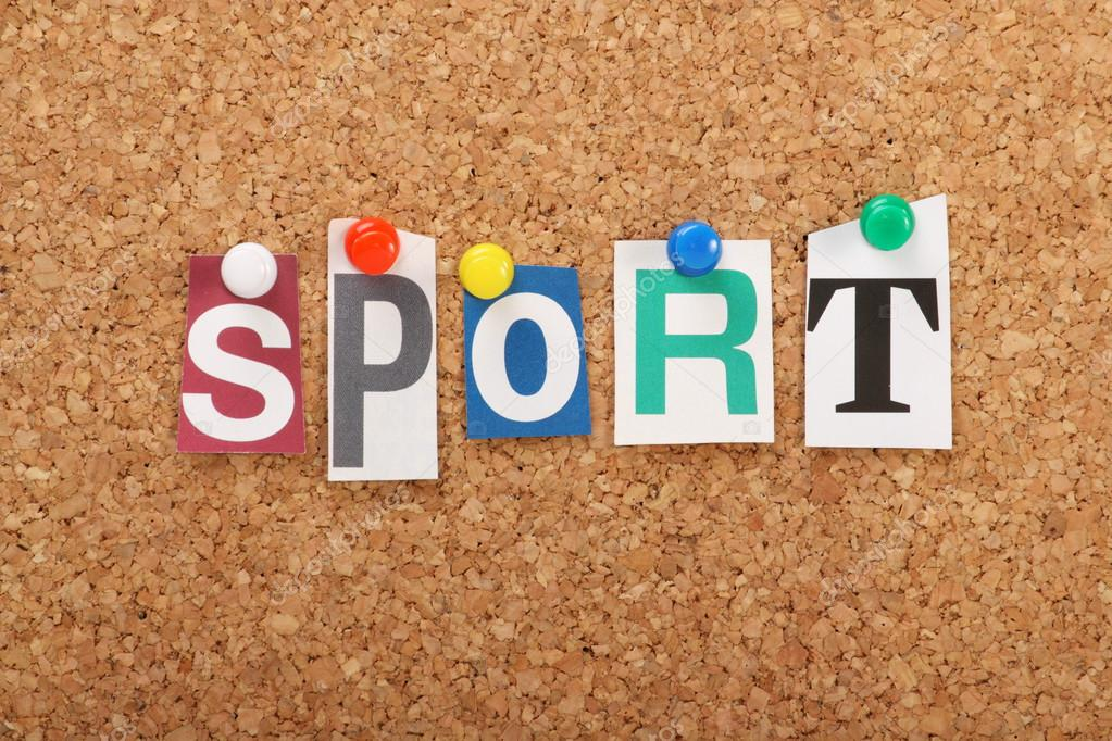 de woord-sport — Stockfoto © thinglass #28754271