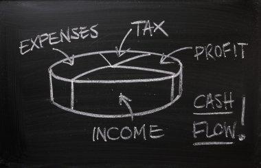 Cash Flow Pie Chart