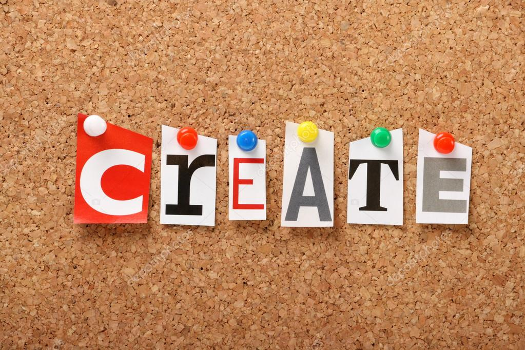 The word Create