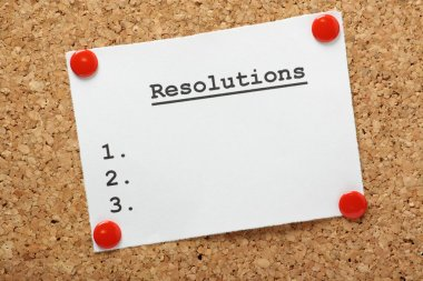Resolutions List