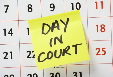 Day In Court Reminder
