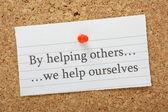 pomoc druhým