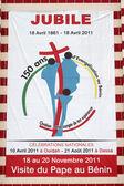 Visualizza il Giubileo. celebrazione nazionale con la visita del Papa in benin.