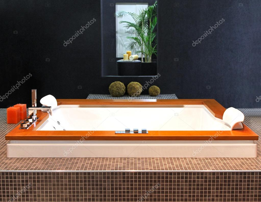 Hydromassage tub — Stock Photo © ttatty #15829653