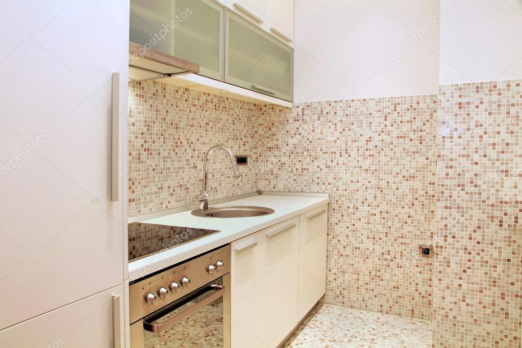 Mosaik Fliesen Küche — Stockfoto © ttatty #19783165