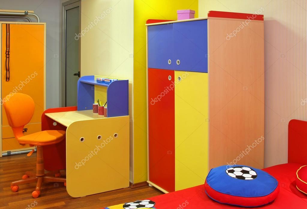 Slaapkamer Meubels Kind : Kleurrijke kind slaapkamer u stockfoto ttatty