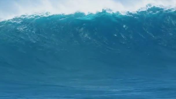 kék óceán hullám