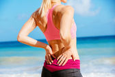 concetto di mal di schiena