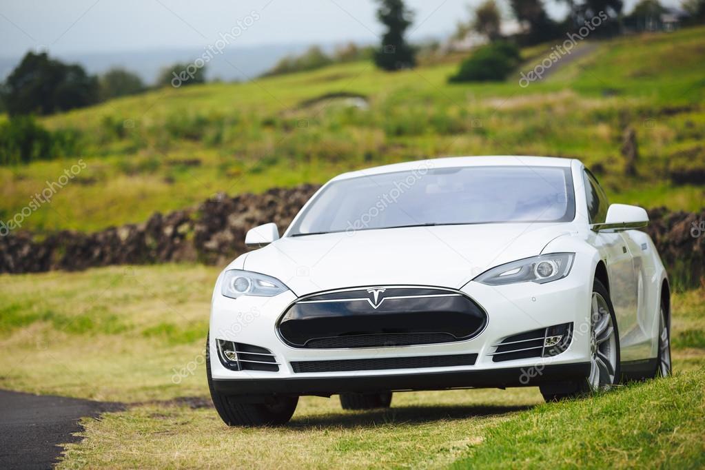 Tesla Motors model S sedan